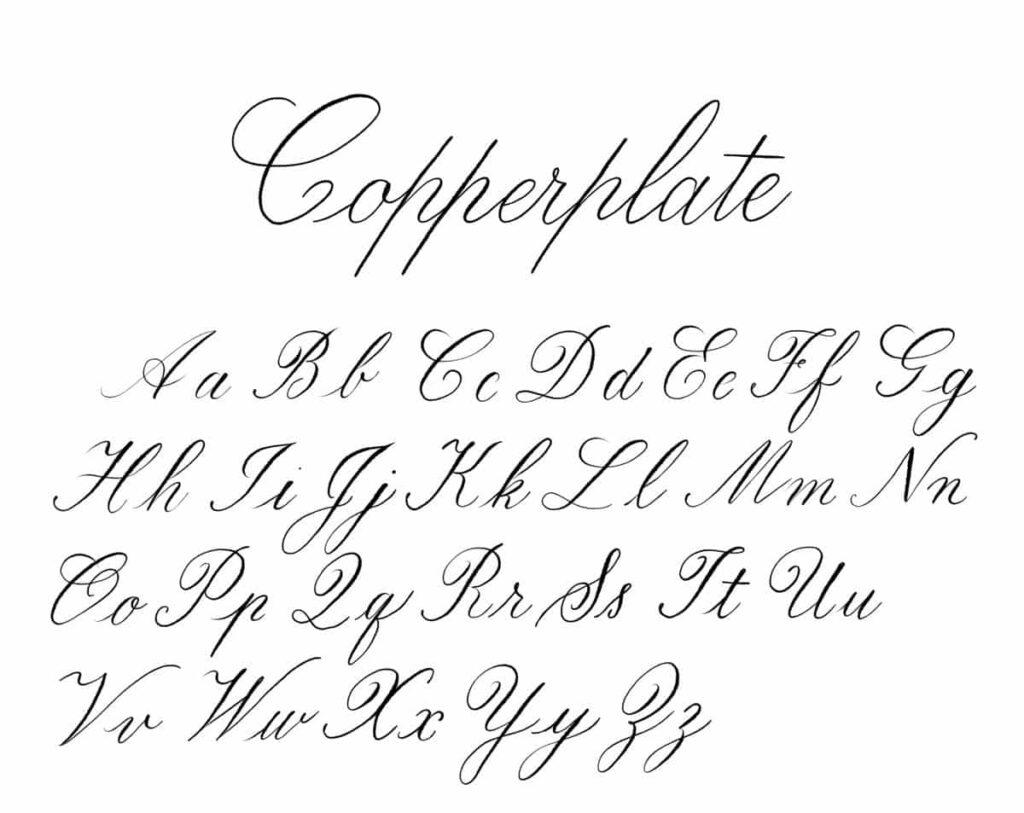 Calligraphie Lettre la différence entre le lettrage créatif, la calligraphie et la